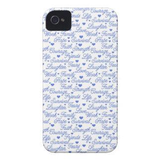 Blue Awareness Samsung Case iPhone 4 Case