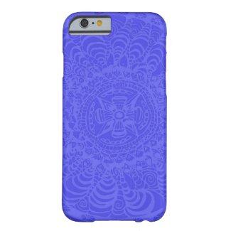 Blue Aztec Mandala