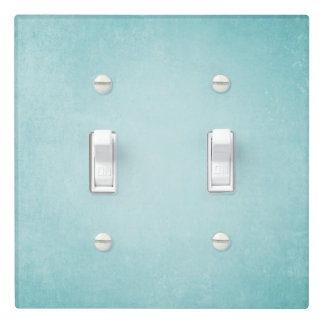 Blue Azule Tile Style Light Switch Cover