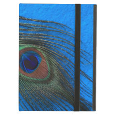 Blue B Peacock Feather Powis Ipad Case at Zazzle