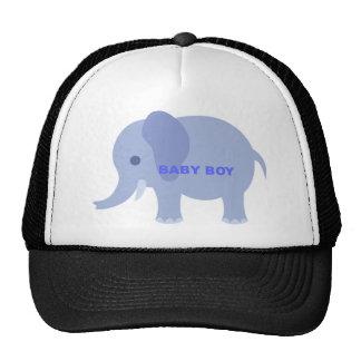Blue Baby Boy Elephant Cap