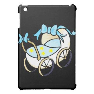 blue baby buggy iPad mini cases