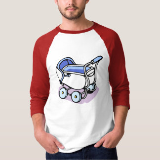 blue baby buggy T-Shirt
