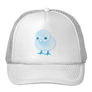 BLUE BABY CHICKIE CHICK CHICKEN CUTE CARTOON LOGO MESH HAT