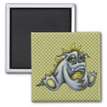 Blue baby dragon magnets
