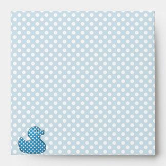 blue baby ducky envelope