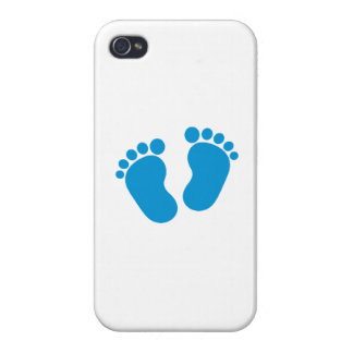 Blue baby feet iPhone 4/4S cover