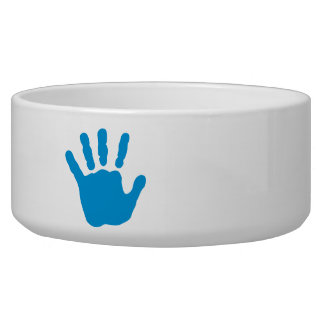 Blue baby hand bowl