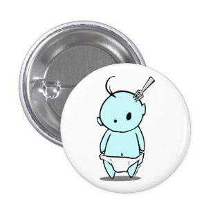 Blue Baby Nightmare Button