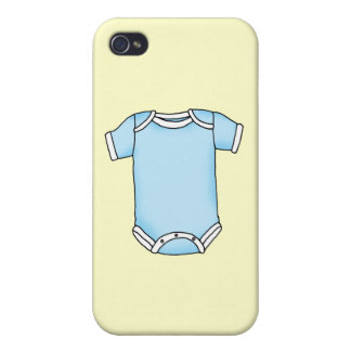 blue baby one piece iPhone 4 cover