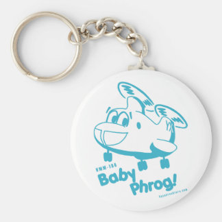 Blue Baby Phrog Keychain