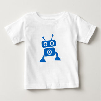 Blue Baby Robot Baby Clothes Tshirt