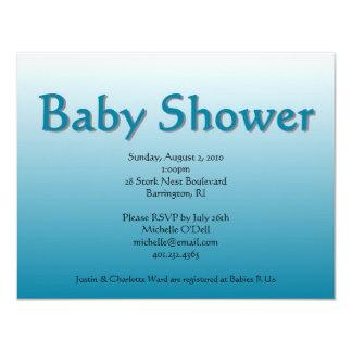 blue; baby shower card