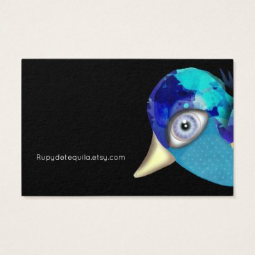 Professional Business Blue Baby Sparrow Business Card