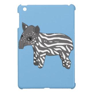 blue baby tapir iPad mini cases