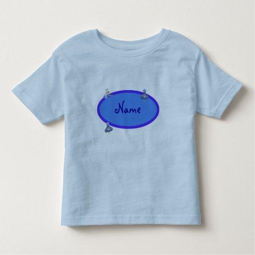 Blue Baby /Toddler Name Frame T-Shirt