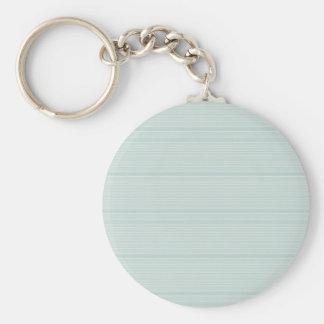 Blue Background Basic Round Button Keychain