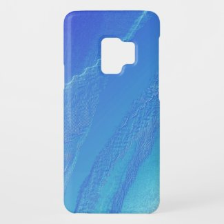Blue Background Case-Mate Samsung Galaxy S9 Case