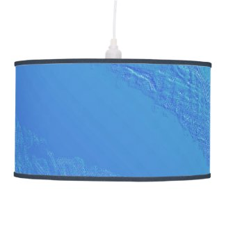 Blue Background Ceiling Lamp