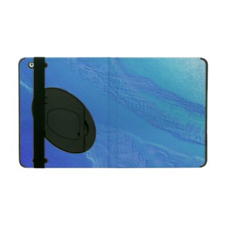 Blue Background iPad Cover