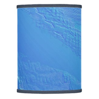 Blue Background Lamp Shade
