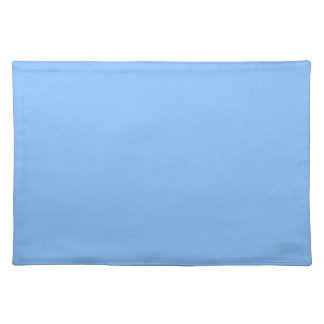 Blue Background on a Placemat