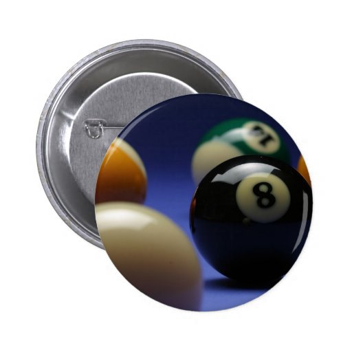 Blue Background Pinback Button