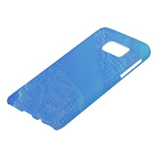 Blue Background Samsung Galaxy S7 Case