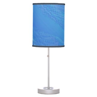 Blue Background Table Lamp