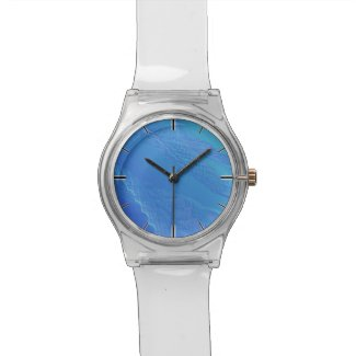 Blue Background Watch