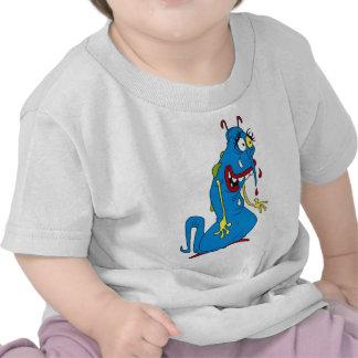 Blue bacteria shirt