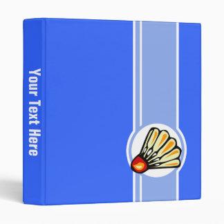 Blue Badminton Binder