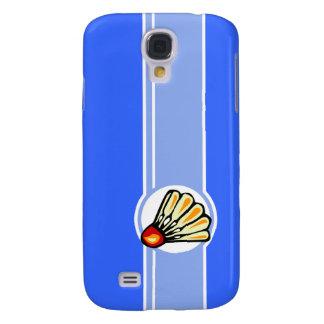 Blue Badminton Samsung Galaxy S4 Case