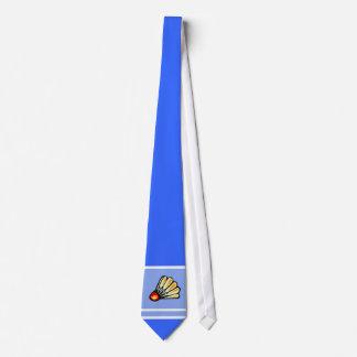 Blue Badminton Tie