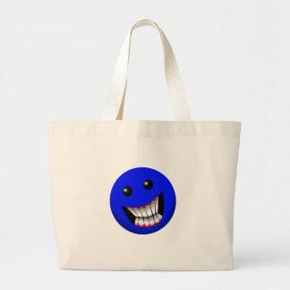 Blue Canvas Bag
