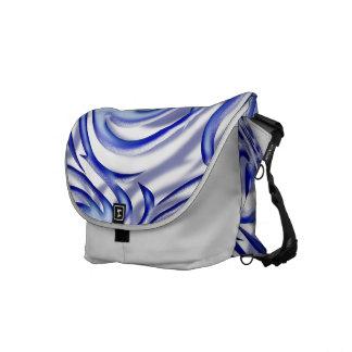 Blue Ball Messenger Bag