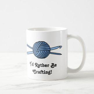 Blue Ball of Yarn (Knit & Crochet) Mugs