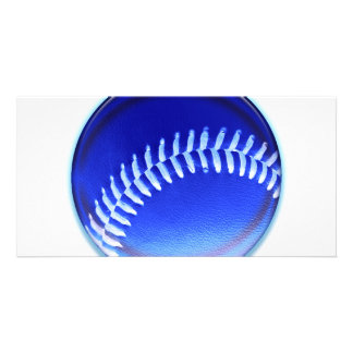 Blue Ball Photo Card