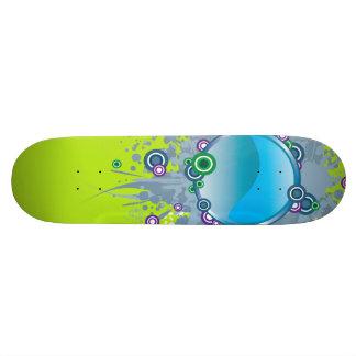 Blue Ball Skateboard