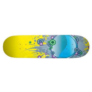 Blue Ball Skateboard Deck