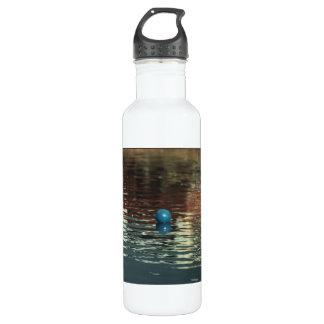 Blue Ball Stainless Steel Water Bottle