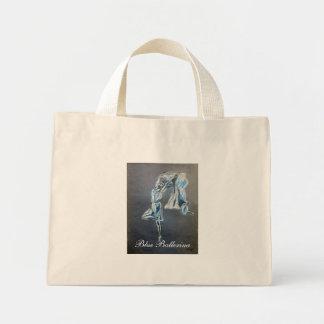 Blue Ballerina, Dancer tote bag