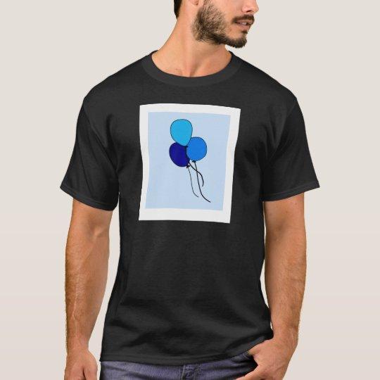 Blue  Ballons T-Shirt