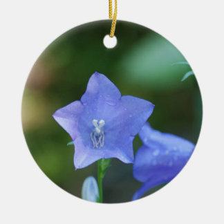 Blue Balloon Flower Ornament