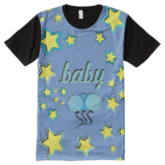 Blue Balloons All over/ABDL tee/Baby 4 Life All-Over-Print T-Shirt