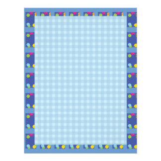 Blue BAlloons : Dream Love Letter LoveLetter Letterhead