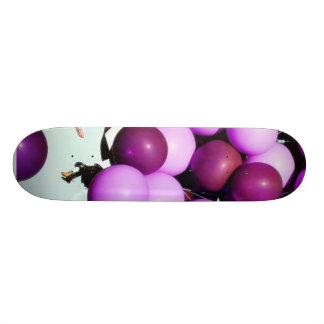 Blue Balloons Hot Air Cluster Skateboards
