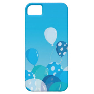 Blue Balloons iPhone 5 case