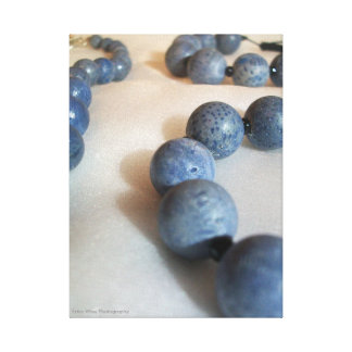Blue Balls Canvas Print