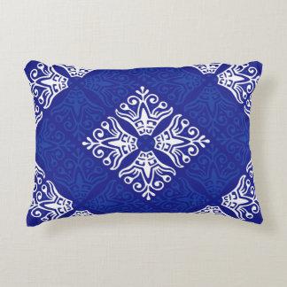 Blue Bandana Design Decorative Pillow